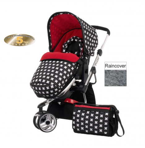 Obaby Chase Stroller - Crossfire