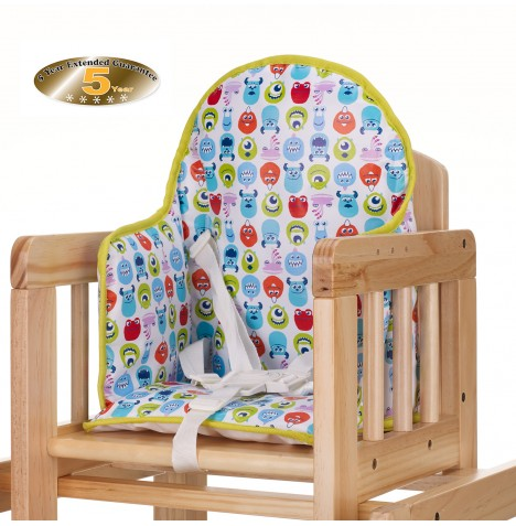 Obaby Disney Highchair Seat Insert - Monsters Inc