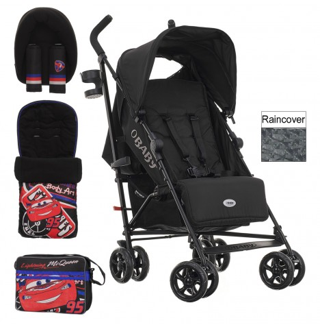 Obaby Disney Zeal Stroller Bundle - Cars