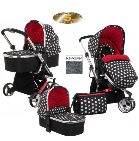 Obaby Chase Stroller & Carrycot - Crossfire