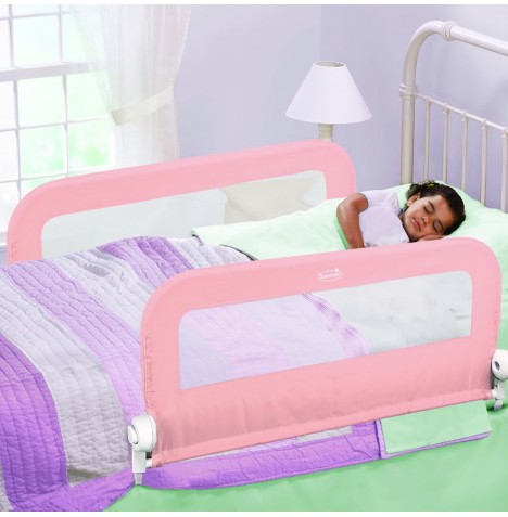 Summer Infant Grow With Me Double Bedrail - Pink