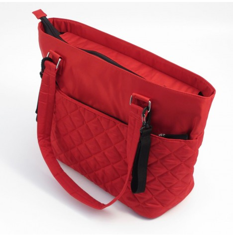 Summer Infant Quilted Tote Changing Bag - Ruby Red