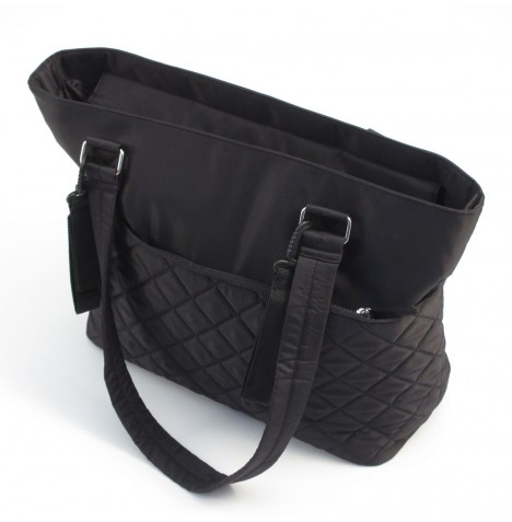 Summer Infant Quilted Tote Changing Bag - Jet Black