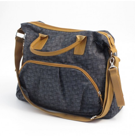 Summer Infant Tote Changing Bag - Charcoal / Tan
