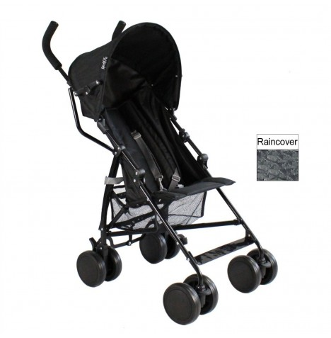 Red Kite Push Me 2 U Stroller Pushchair - Midnight