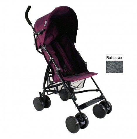 Red Kite Push Me 2 U Stroller Pushchair - Plum