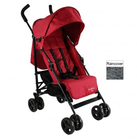 Red Kite Push Me Quatro Stroller - Cherry