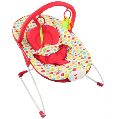 Red Kite Cozy Bounce Bouncer Chair - Carnival