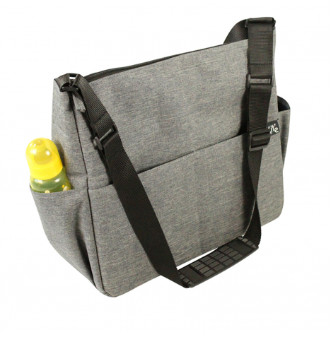Red Kite Change Me Baby Changing Bag Messenger - Grey