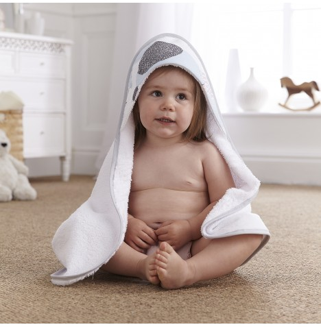 Clair De Lune Luxury Hooded Towel - Stanley & Pip