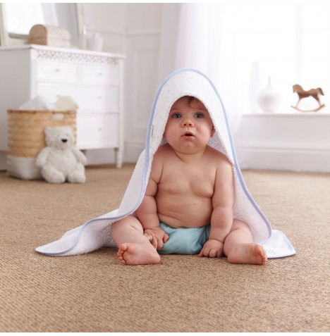 Clair De Lune Luxury Hooded Towel - Star Blue