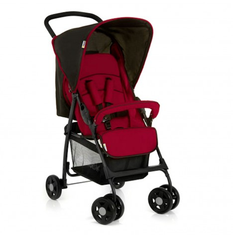 Hauck Sport Pushchair with Raincover - Tango / Caviar