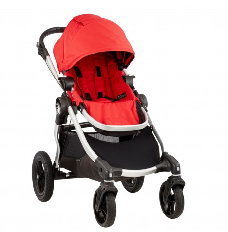Baby Jogger City Select Stroller - Ruby Red
