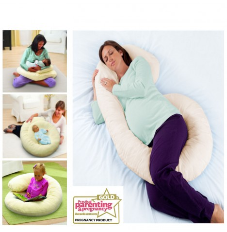 Summer Infant Ultimate 4 In 1 Large Body Comfort Pillow..