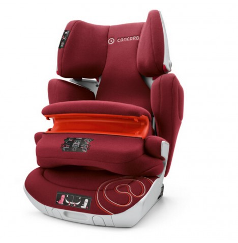 Concord Transformer XT Pro Group 1,2,3 Isofix Car Seat - Bordeaux Red