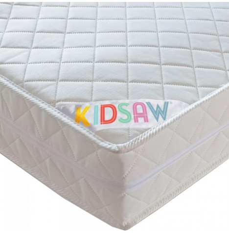 Kidsaw Deluxe Sprung Single Bed Safety Mattress 190 x 90cm