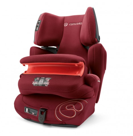 Concord Transformer Pro Group 1,2,3 Isofix Car Seat - Bordeaux Red