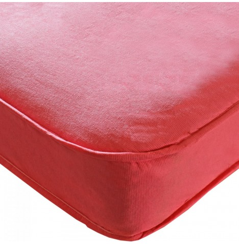 Kidsaw Colour Sprung Single Bed Safety Mattress 190 x 90cm - Pink