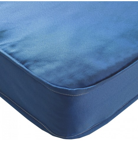 Kidsaw Colour Sprung Single Bed Safety Mattress 190 x 90cm - Blue