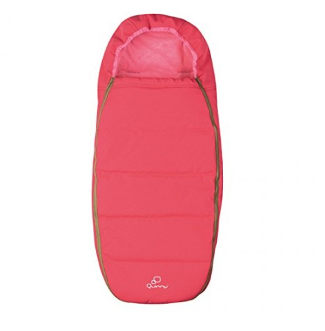 Quinny Pushchair Footmuff / Sleeping Bag - Pink Blush