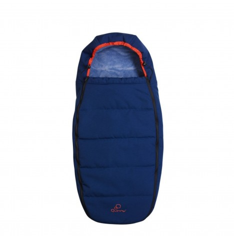Quinny Pushchair Footmuff / Sleeping Bag - Electric Blue