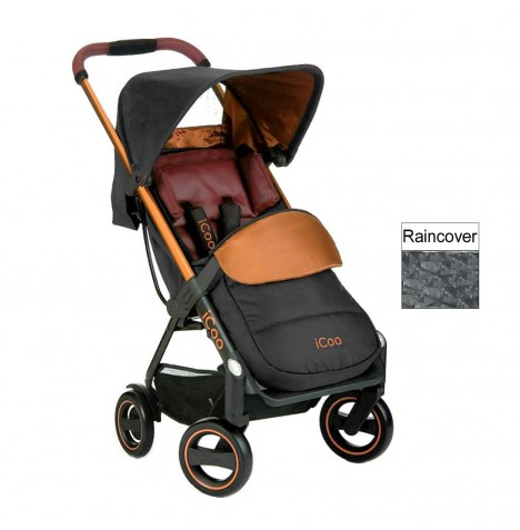 ICoo Acrobat Pushchair - Copper / Black