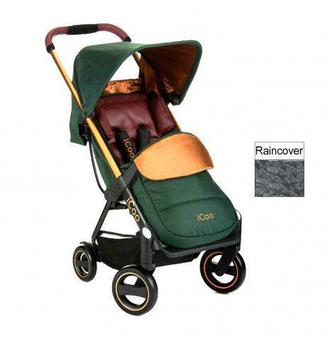 Hauck Icoo Acrobat Pushchair - Copper / Green