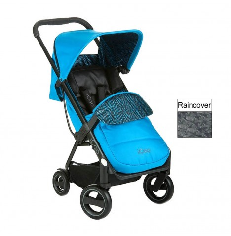ICoo Acrobat Pushchair - Fishbone / Blue