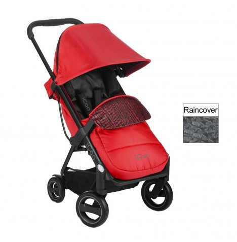 ICoo Acrobat Pushchair - Fishbone / Red