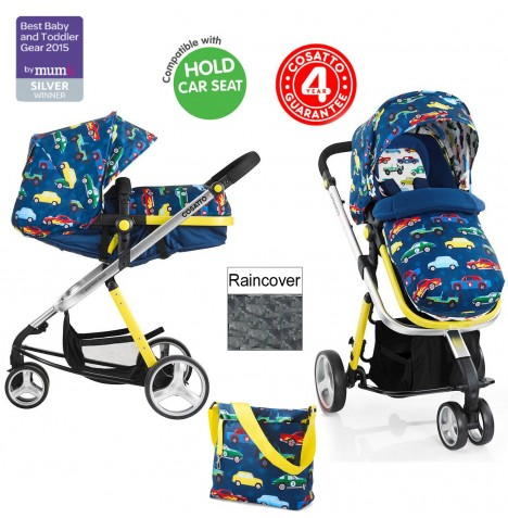 Cosatto Woop 2in1 Pram / Pushchair - Rev Up