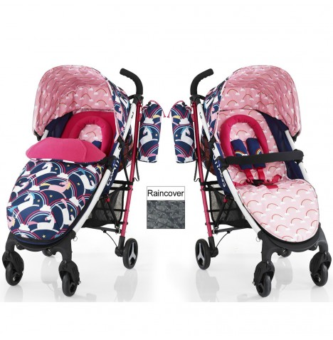 Cosatto Yo 2 Pushchair Stroller - Magic Unicorns
