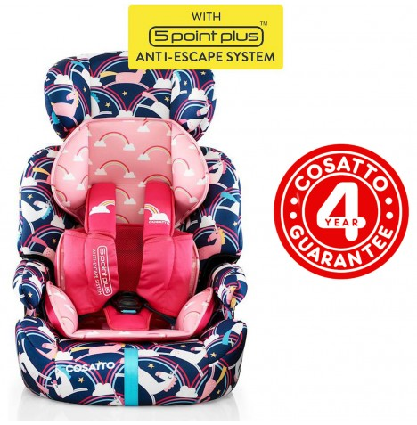 Cosatto Zoomi Group 123 Car Seat - Magic Unicorns