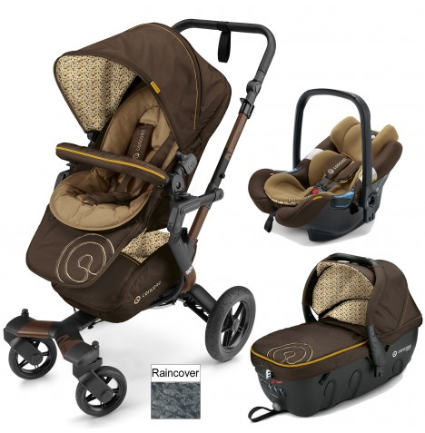 Concord Neo Travel Set Travel System - Walnut Brown