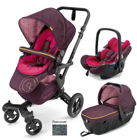 Concord Neo Travel Set Travel System - Rose Pink