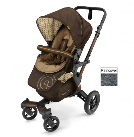 Concord Neo Pushchair Stroller - Walnut Brown