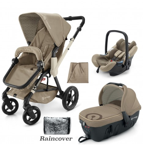 Concord Wanderer Travel Set Travel System - Almond Beige