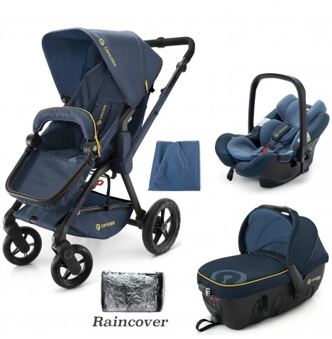 Concord Wanderer Travel Set Travel System - Denim Blue