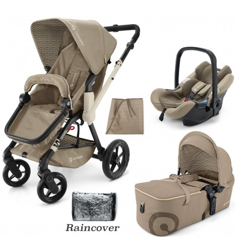 Concord Wanderer Mobility Set Travel System - Almond Beige