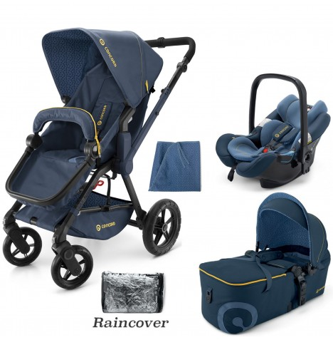 Concord Wanderer Mobility Set Travel System - Denim Blue