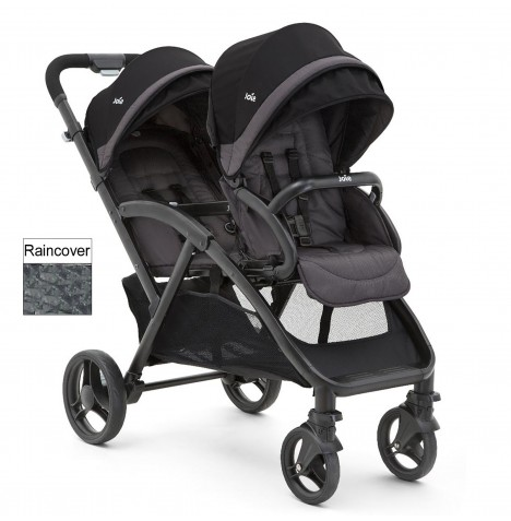 Joie Evalite Duo Tandem Stroller - Two Tone Black