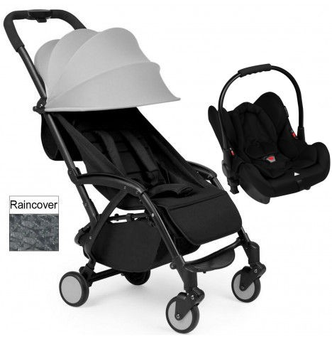 Ickle Bubba Aurora Travel System - Grey
