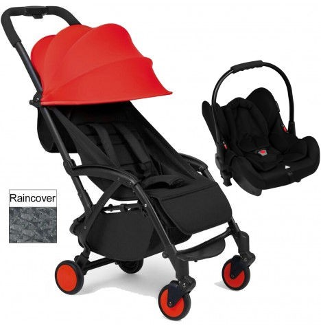 Ickle Bubba Aurora Travel System - Red