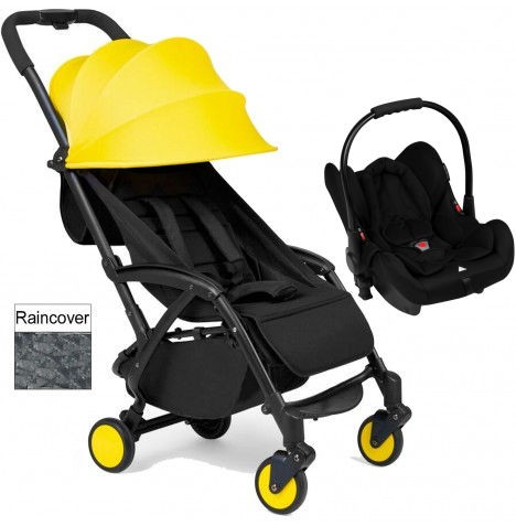 Ickle Bubba Aurora Travel System - Yellow