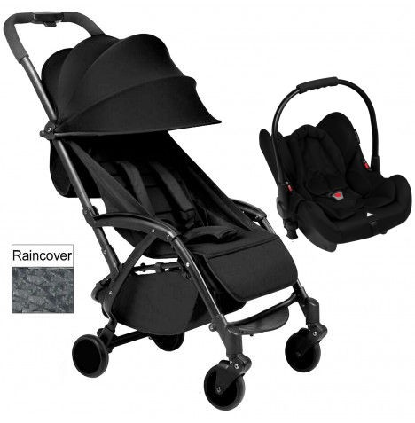 Ickle Bubba Aurora Travel System - Black