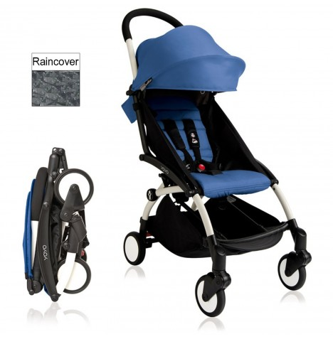 Babyzen YoYo+ Pushchair 6mth+ Package - White / Blue