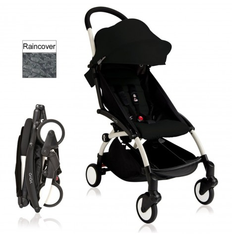 Babyzen YoYo+ Pushchair 6mth+ Package - White / Black