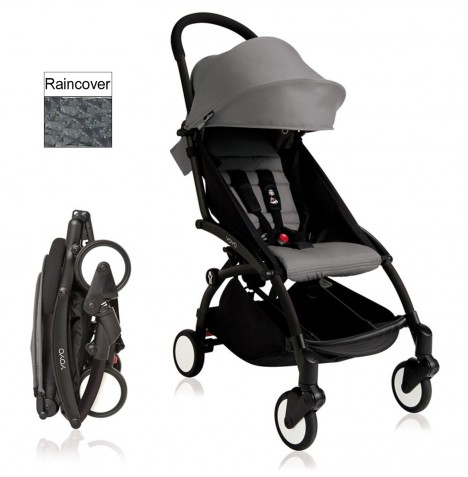 Babyzen YoYo+ Pushchair 6mth+ Package - Black / Grey