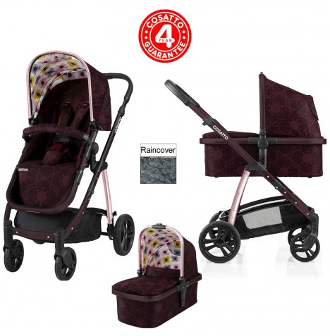 Cosatto Wow 3 in 1 Combi Pushchair - Posy