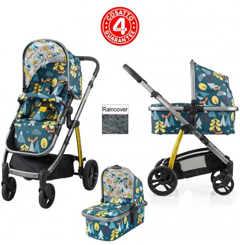 Cosatto Wow 3 in 1 Combi Pushchair - Fox Tale