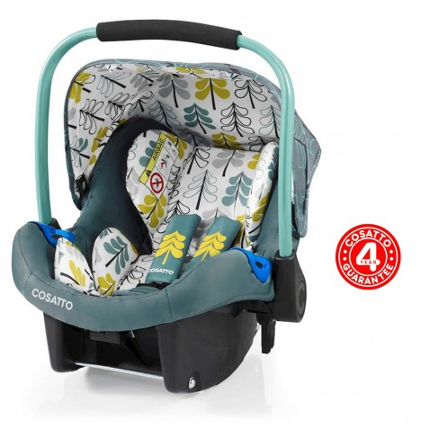 Cosatto Port Group 0+ Car Seat - Fjord